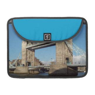 Tower Bridge in London Rickshaw Flap Sleeve Sleeve For MacBook Pro