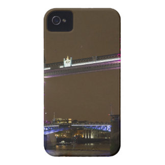Tower Bridge in Princess pink iPhone 4 Case-Mate Cases