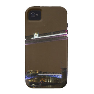 Tower Bridge in Princess pink Vibe iPhone 4 Cases
