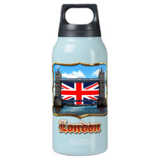 Tower Bridge Insulated Water Bottle