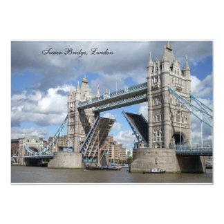 Tower Bridge Invitation Card