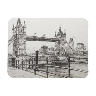 Tower Bridge London 2006 Rectangular Photo Magnet