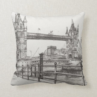 Tower Bridge London 2006 Throw Pillow