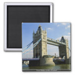 Tower Bridge, London, England 2 Inch Square Magnet