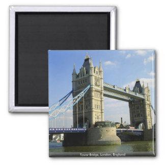 Tower Bridge, London, England 2 Inch Square Magnet