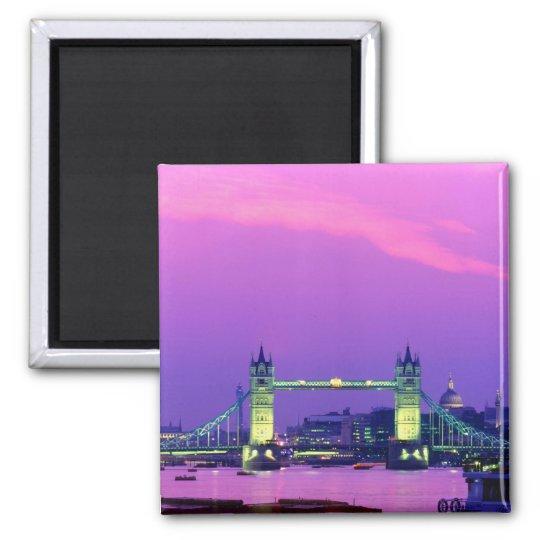 Tower Bridge, London, England 2 Magnet
