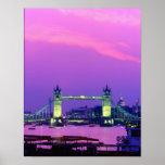 Tower Bridge, London, England 2 Poster