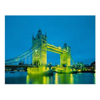 Tower Bridge, London, England 3 Postcard