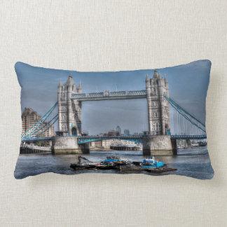 Tower Bridge London, England Art design Lumbar Pillow