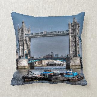 Tower Bridge London, England Art design Throw Pillow