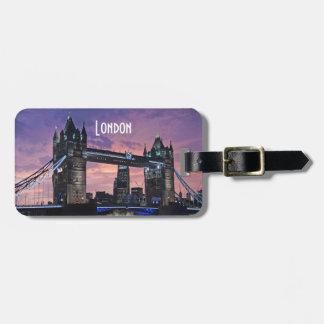 Tower Bridge London England Bag Tag