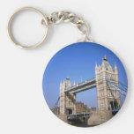 Tower Bridge, London, England Keychain