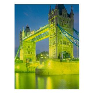 Tower Bridge, London, England Postcard