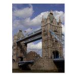Tower Bridge- London, England Postcard