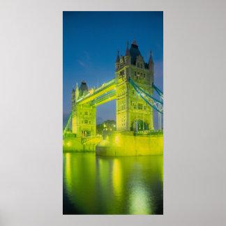 Tower Bridge, London, England Poster