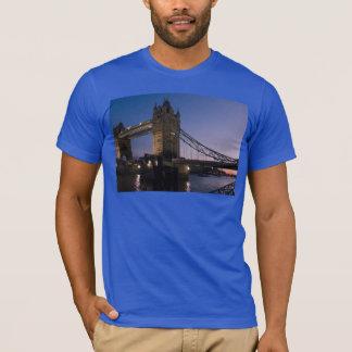 Tower Bridge London England Water Night City T-Shirt