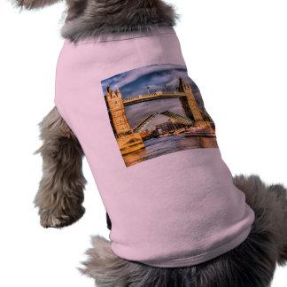 Tower Bridge London opening Pet Shirt