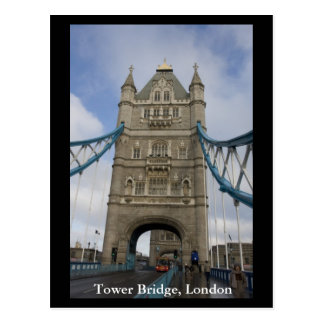 Tower Bridge, London Postcard