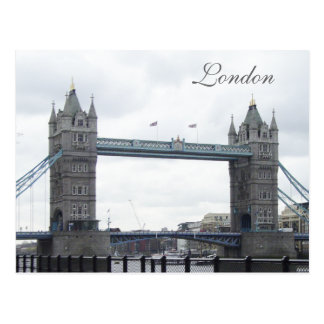Tower Bridge--London Postcard