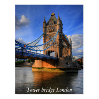 Tower bridge London Postcard