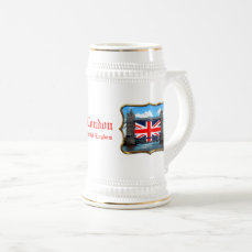 Tower Bridge - London, U.K. Beer Stein