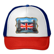 Tower Bridge - London, U.K. Trucker Hat
