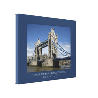 Tower Bridge, London, UK Canvas Print