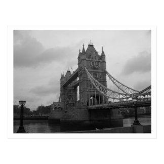 tower bridge london uk postcard