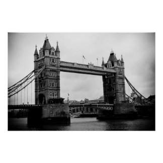 Tower Bridge, London, UK Poster