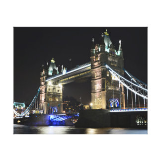 Tower bridge London Wrapped Canvas