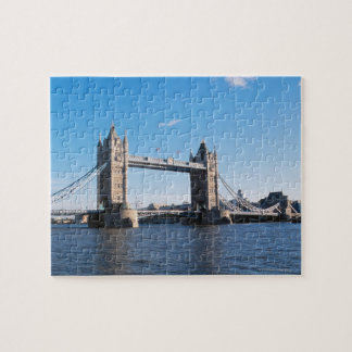 Tower Bridge on the Thames River Jigsaw Puzzle