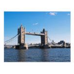 Tower Bridge on the Thames River Postcards