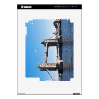 Tower Bridge on the Thames River iPad 3 Skin