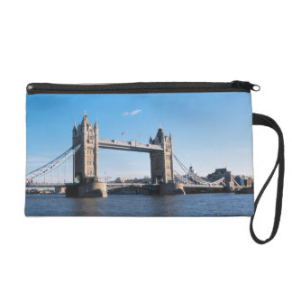Tower Bridge on the Thames River Wristlet Purse