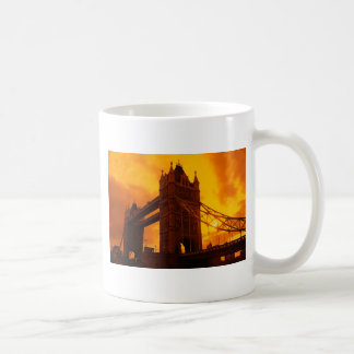 Tower Bridge Orange Light Coffee Mug