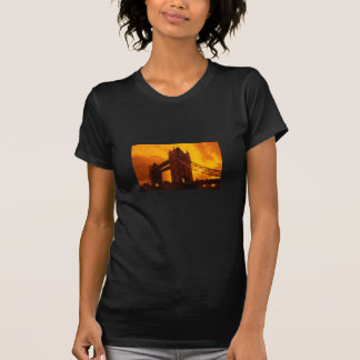 Tower Bridge Orange Light T-Shirt