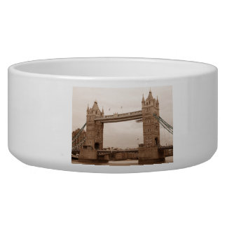 Tower Bridge Pet Bowls