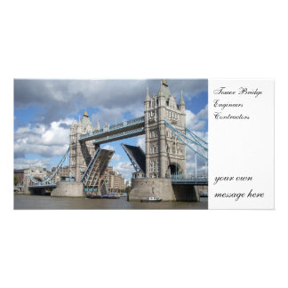 Tower Bridge Photo Card