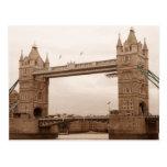 Tower Bridge Post Card
