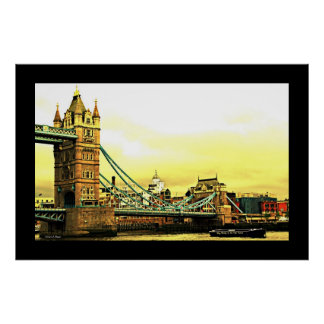 Tower Bridge Poster
