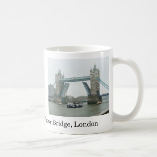 Tower Bridge, rasied Coffee Mugs