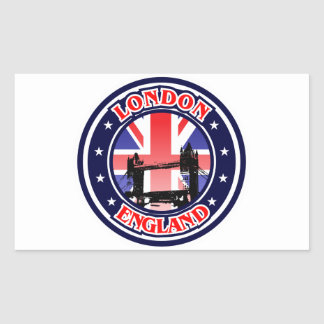 Tower Bridge Rectangular Sticker