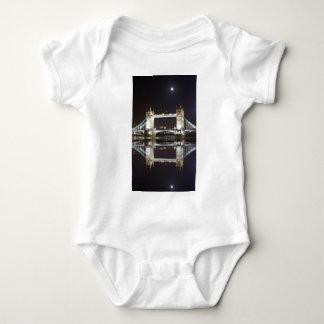 Tower Bridge Reflected Baby Bodysuit