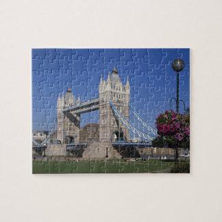 Tower Bridge, River Thames, London, England Jigsaw Puzzle