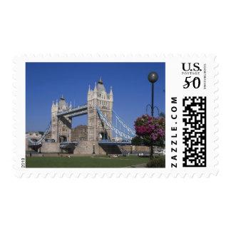 Tower Bridge, River Thames, London, England Postage