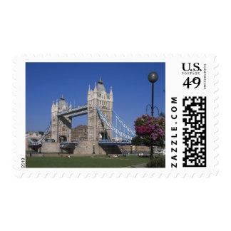 Tower Bridge, River Thames, London, England Stamps