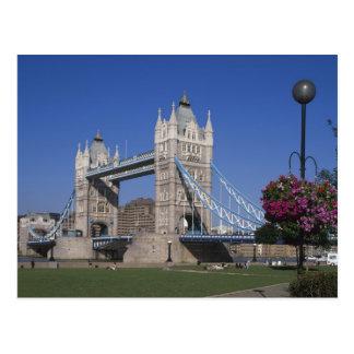 Tower Bridge, River Thames, London, England Postcard