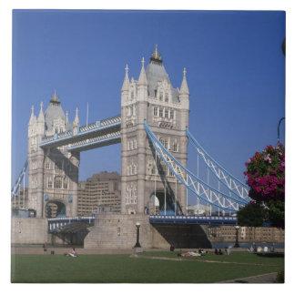 Tower Bridge, River Thames, London, England Tile