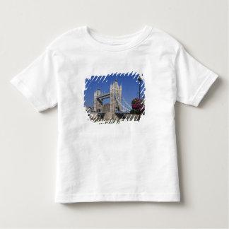 Tower Bridge, River Thames, London, England Toddler T-shirt