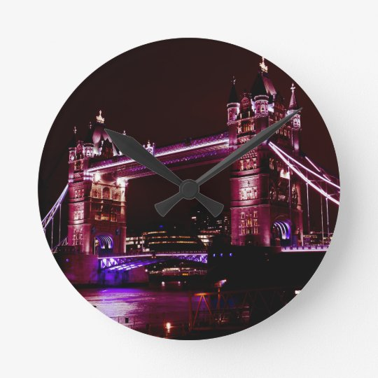 Tower Bridge Round Clock